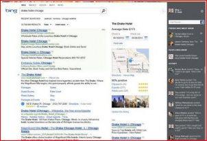 Bing: новый интерфейс поиска.