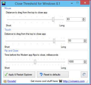 Как ускорить закрытие Metro-приложений в Windows 8.1