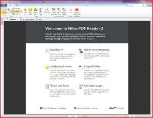 Nitro Reader – удобный инструмент для работы с PDF-документами.