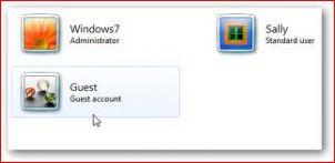 Переименовываем гостевой аккаунт в Windows 7