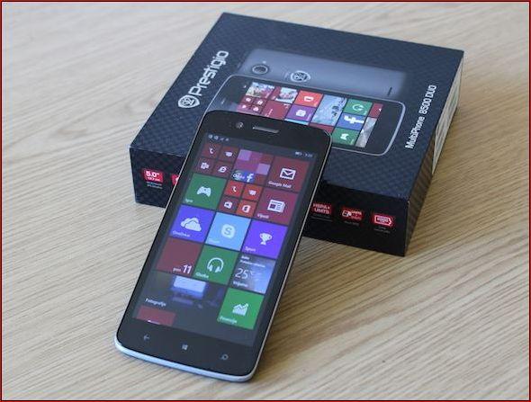 Prestigio выпустит доступные коммуникаторы на Windows Phone