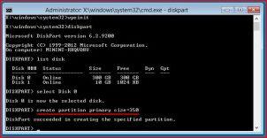 Развертывание Wim-образа системного диска с Windows 8.1 на новом компьютере