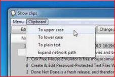 RClipStep – простой в использовании менеджер буфера обмена для платформы Windows.