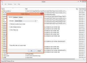 Утилита Hddb обеспечит мгновенный поиск файлов и папок