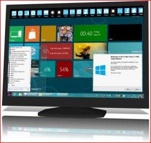 Windows 8 Skin Pack 12 для Windows 7. Меняем интерфейс!