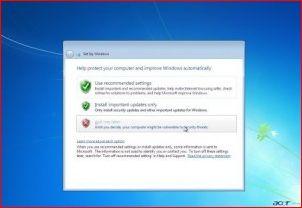 Установка Windows 7.