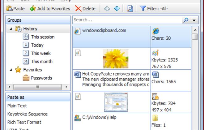 Как удалить данные из буфера обмена Windows?
