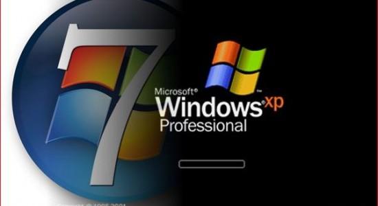 Переход с Windows ХР на Windows 7